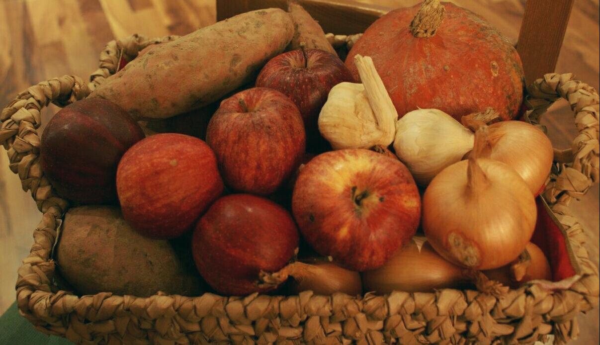 Frisches Obst & Gemüse während einer Entgiftungskur!