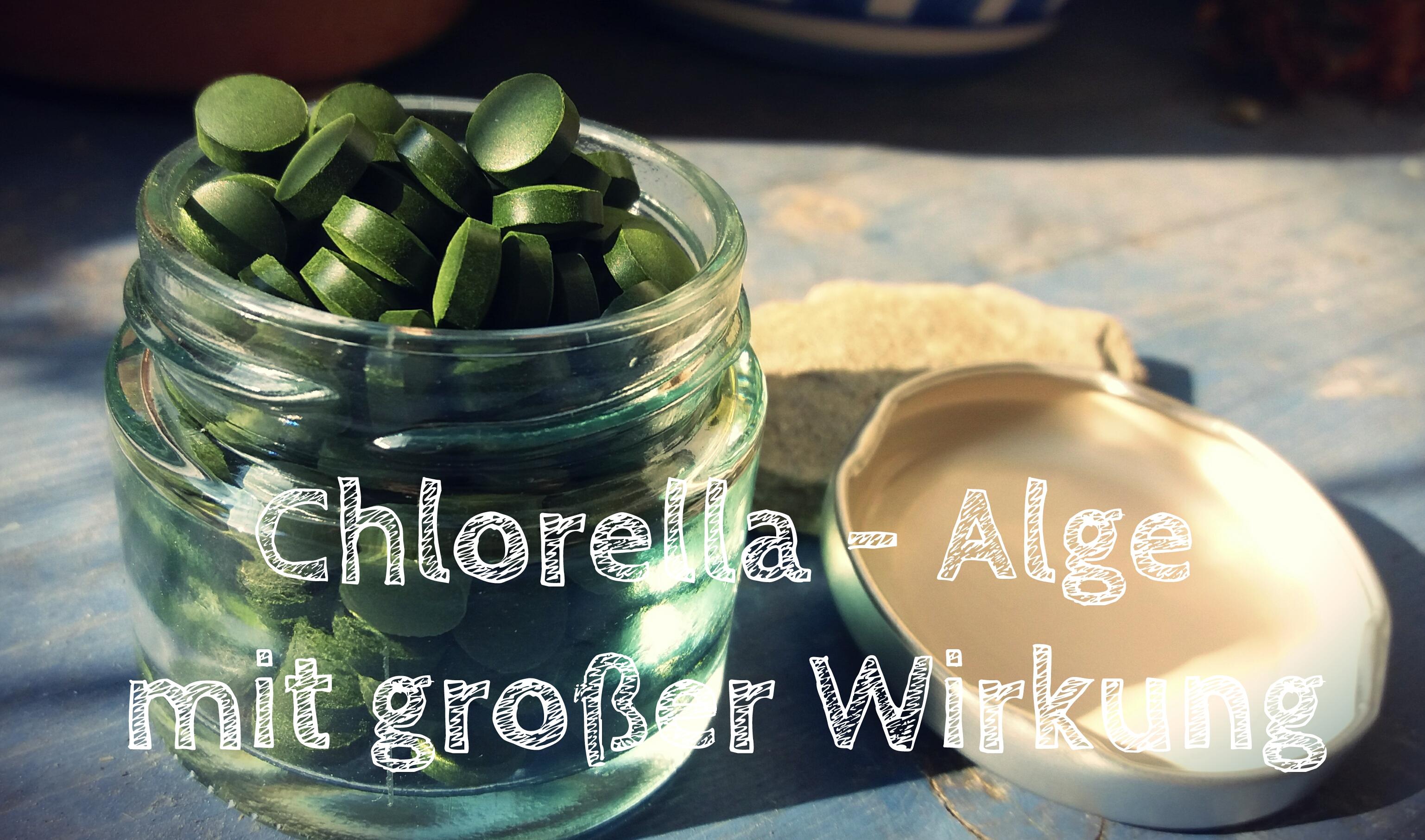 Chlorella - Alge mit großer Wirkung