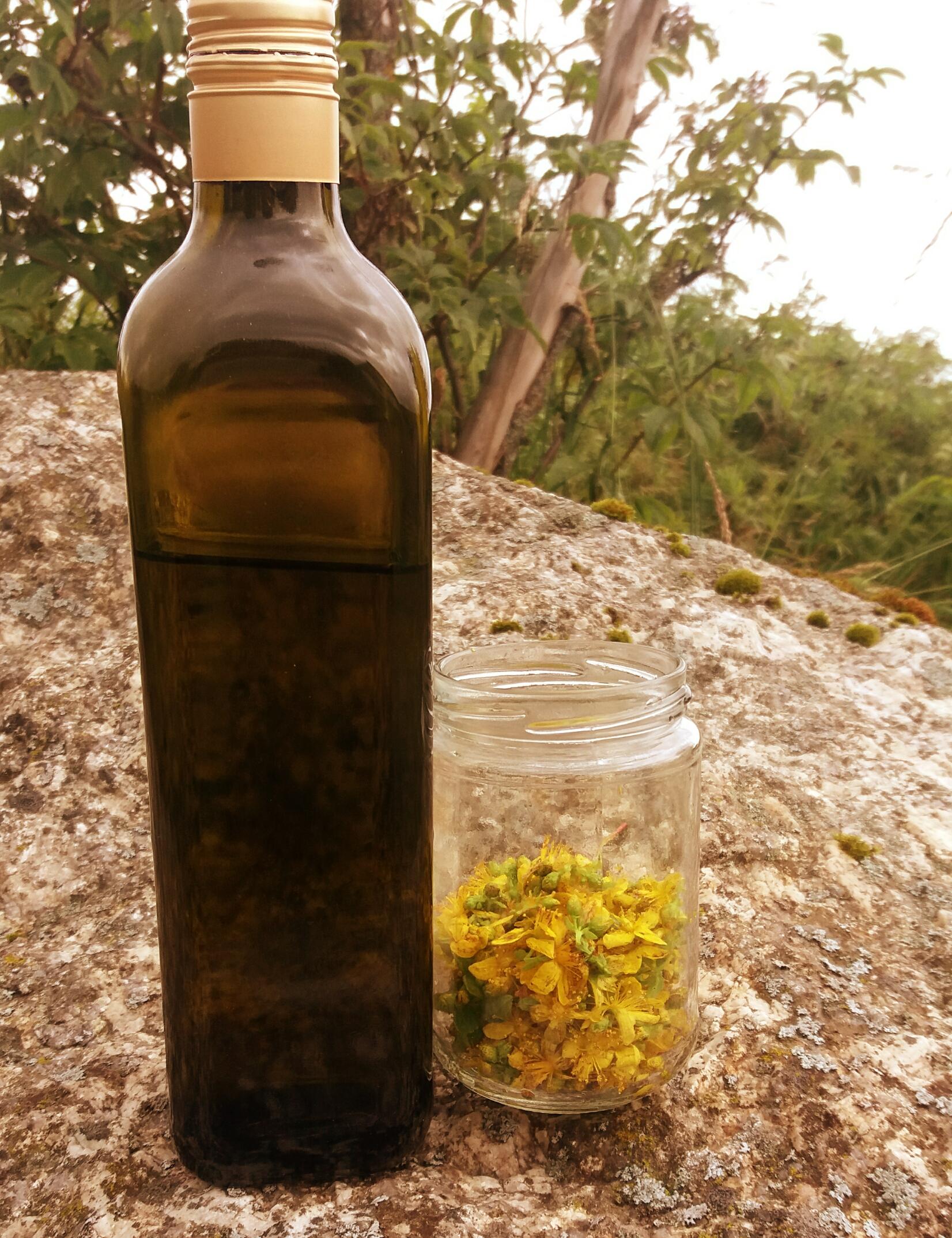 Olivenöl fürs Johanniskrautöl