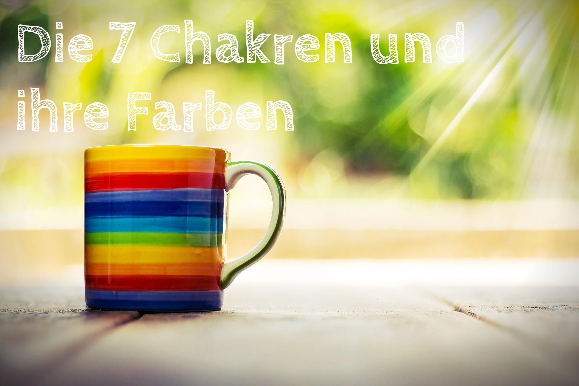 Die sieben Chakren und ihre Farben