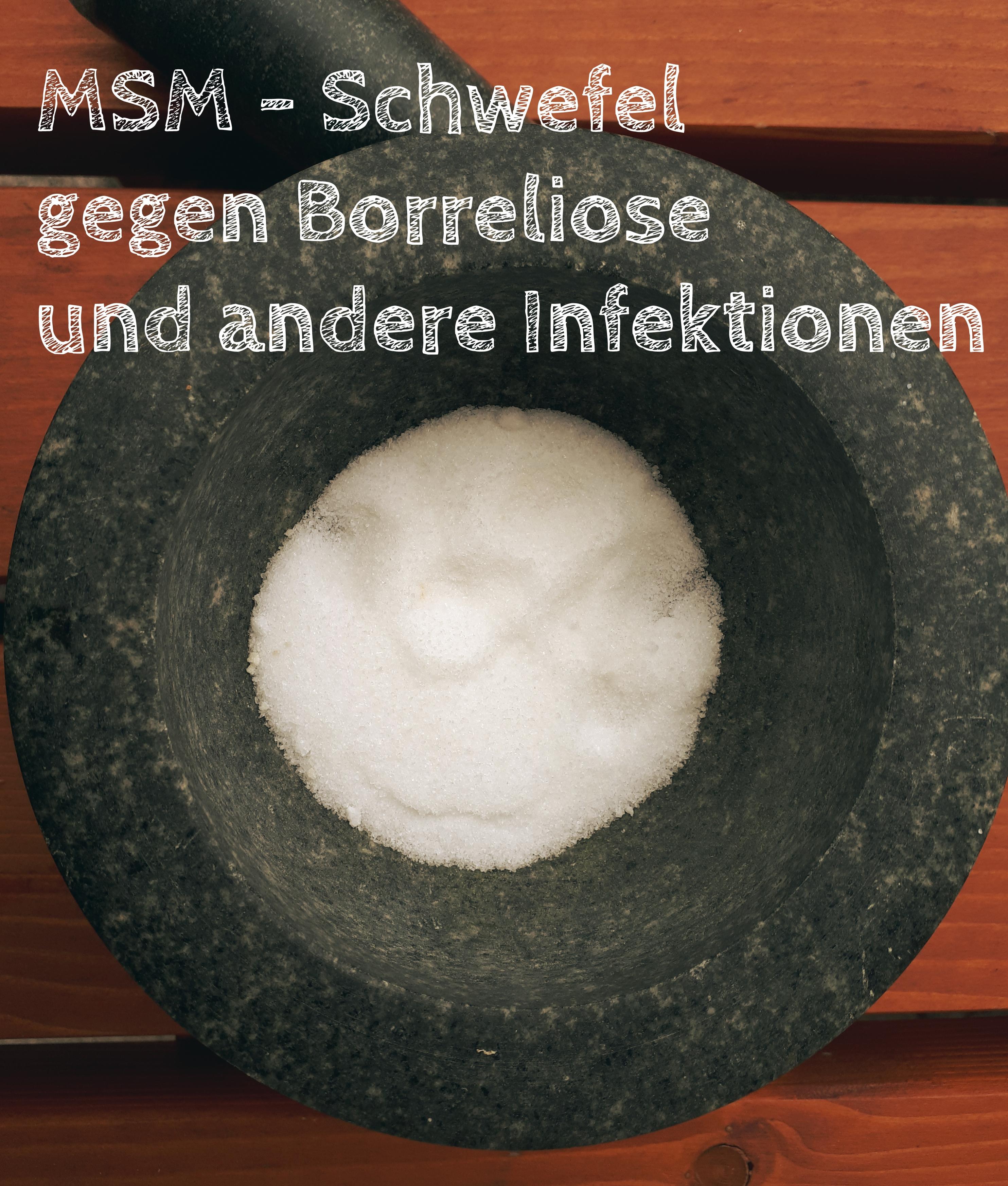 Msm Schwefel Gegen Borreliose Und Andere Infektionen Praxis Für