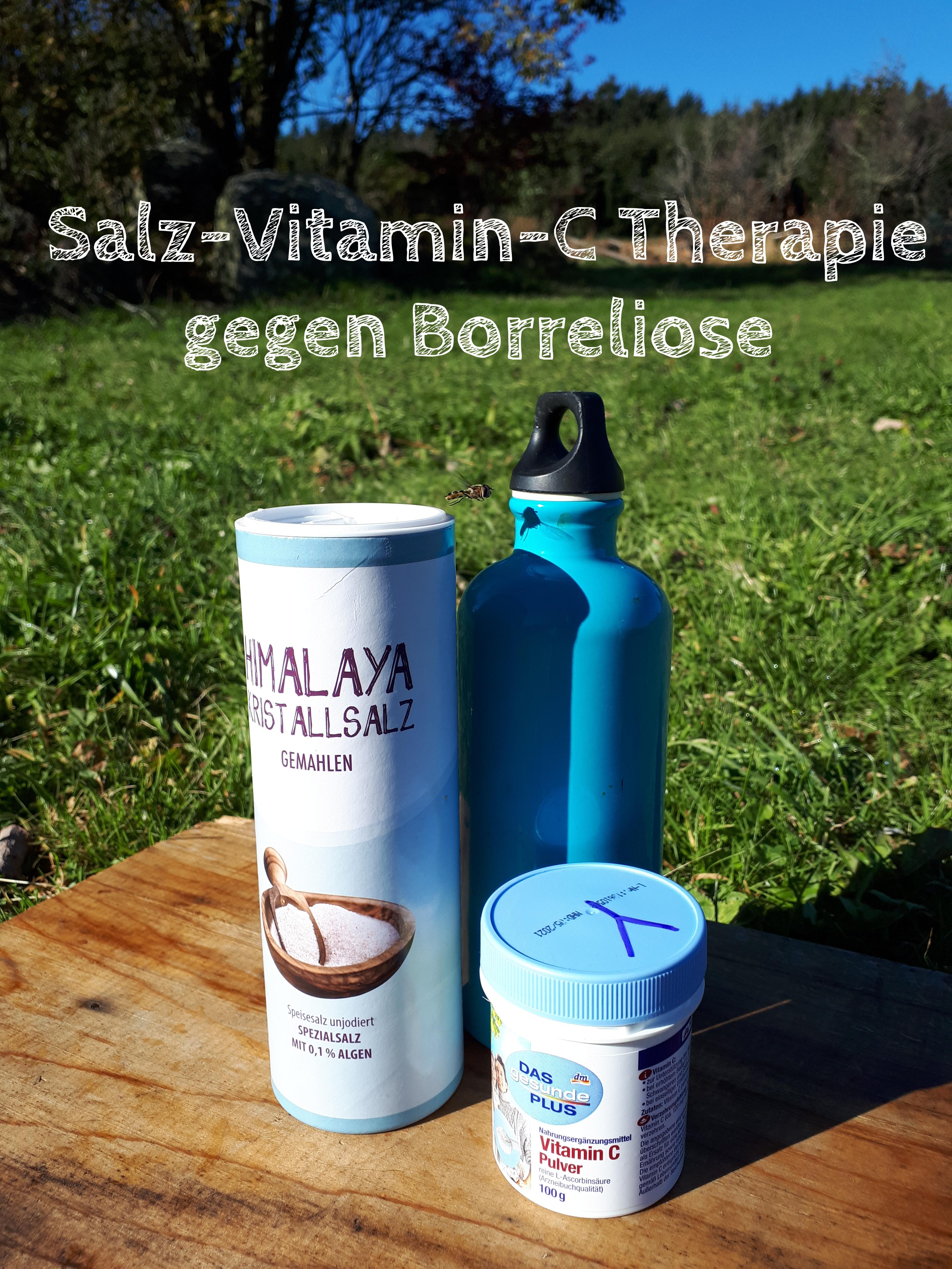 Salz-Vitamin-C Therapie gegen Borreliose