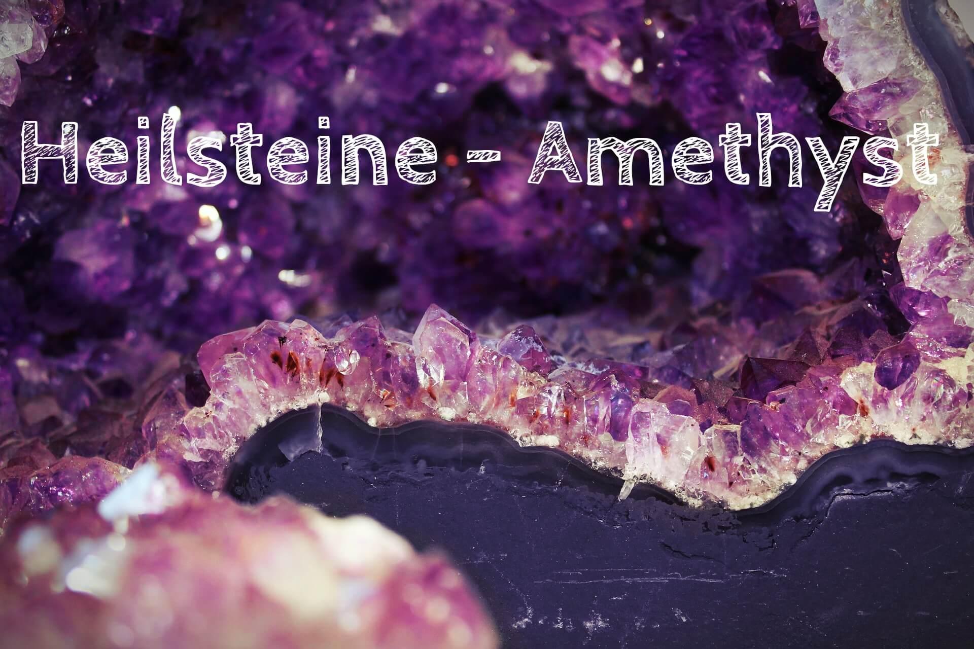 Heilsteine – Amethyst
