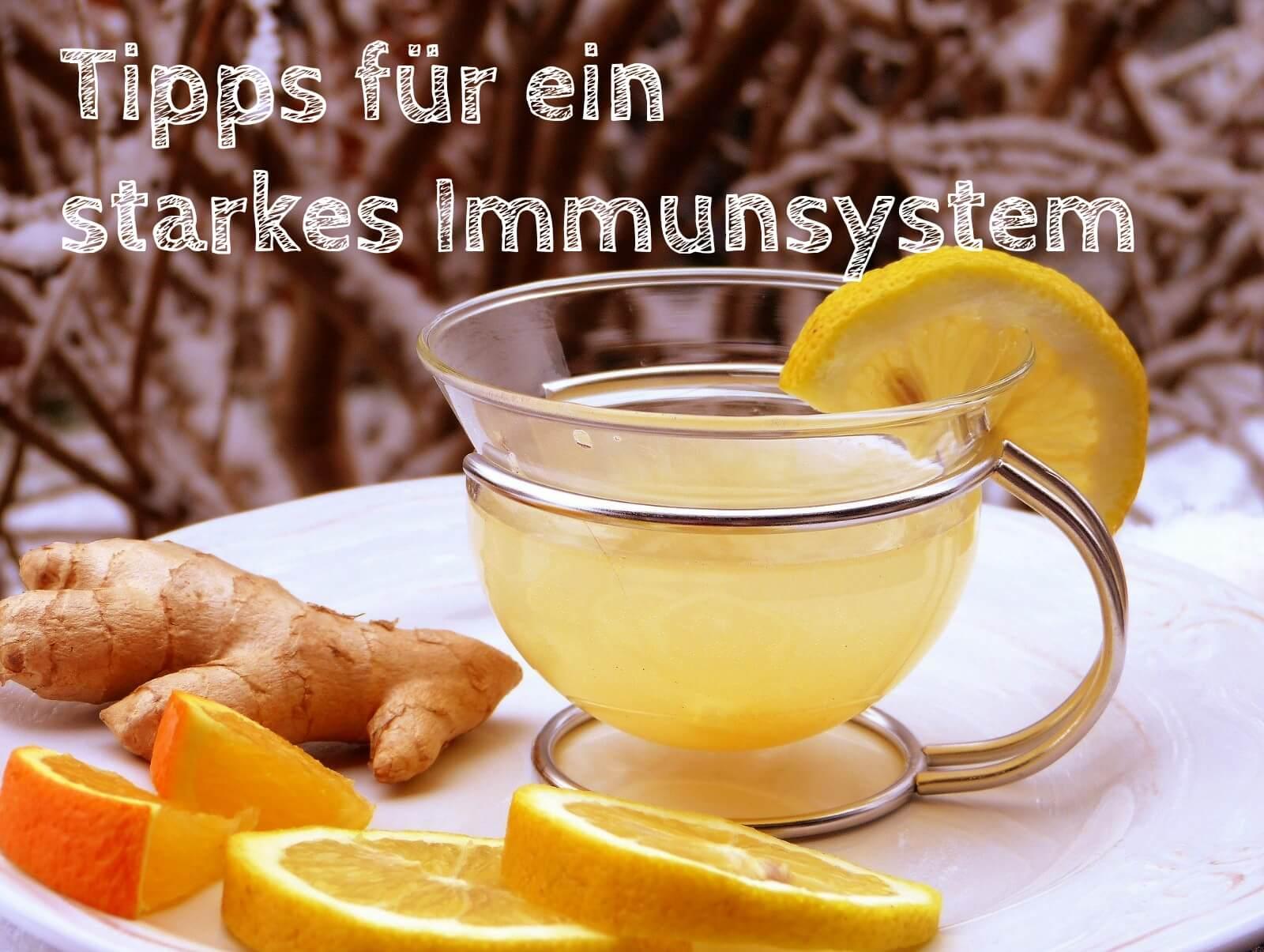 Tipps für ein starkes Immunsystem